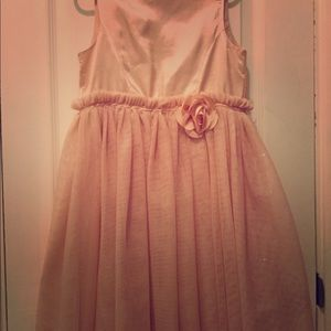 Beautiful H&M girls Pale Pink Dress 7-8Y